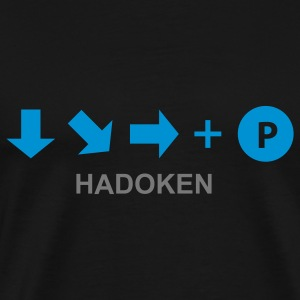 Game t-shirt Hadoken (Asian Size) - Mannen Premium T-shirt