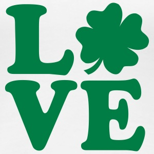 Love Shamrock T-Shirts - Frauen Premium T-Shirt