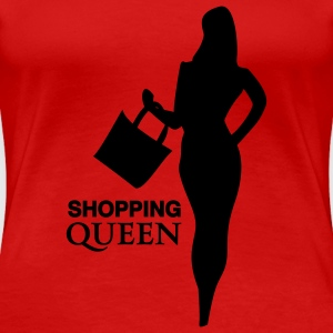 shoppingqueen T-Shirts - Frauen Premium T-Shirt