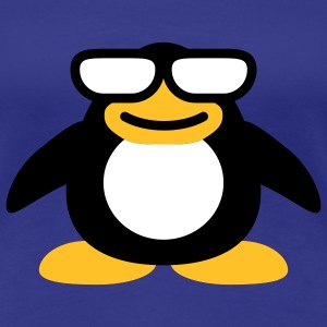 very_cool_penguin_3c T-shirts - Dame premium T-shirt