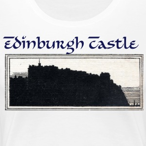 Edinburgh Castle - Women's Premium T-Shirt