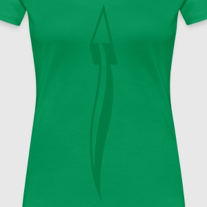 arrow_down_1c T-shirts - Premium-T-shirt dam