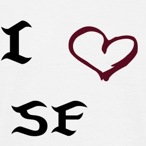 I love San Francisco - Männer T-Shirt