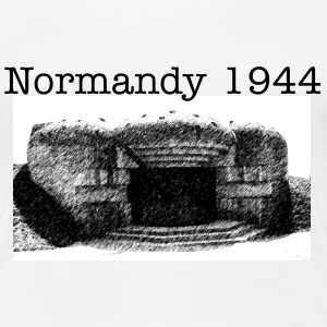 Normandy 1944 girl - Frauen Premium T-Shirt