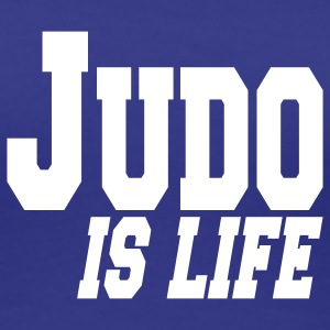 judo is life T-shirts - Vrouwen Premium T-shirt