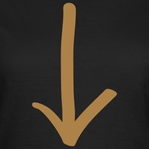 arrow_1c T-shirts - Dame-T-shirt