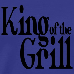 king of the grill T-shirts - Mannen Premium T-shirt