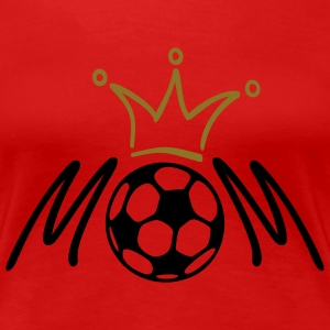 FUSSBALL / SOCCER MOM | Girlieshirt - Frauen Premium T-Shirt