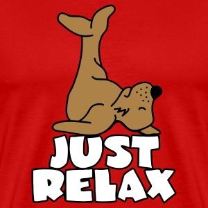 Just relax! T-shirts - T-shirt Premium Homme