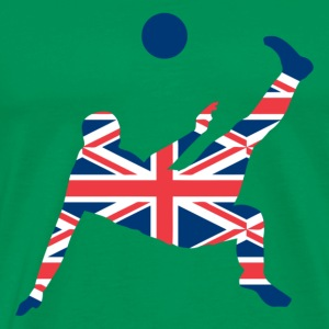United Kingdom soccer - Männer Premium T-Shirt