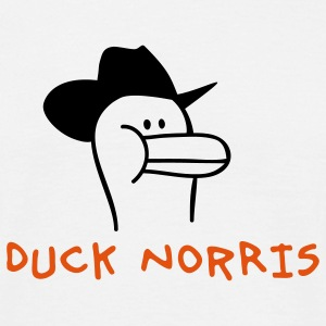 Duck Norris T-shirts - T-shirt Homme