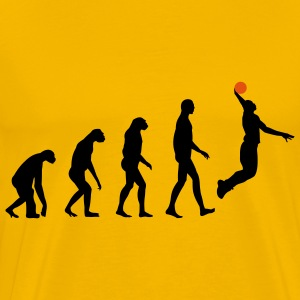 Evolution Basketball T-shirts - Herre premium T-shirt