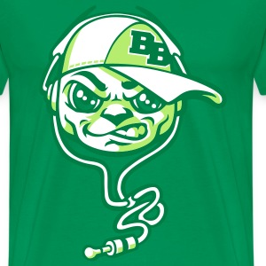 B boy and headset vert - T-shirt Premium Homme
