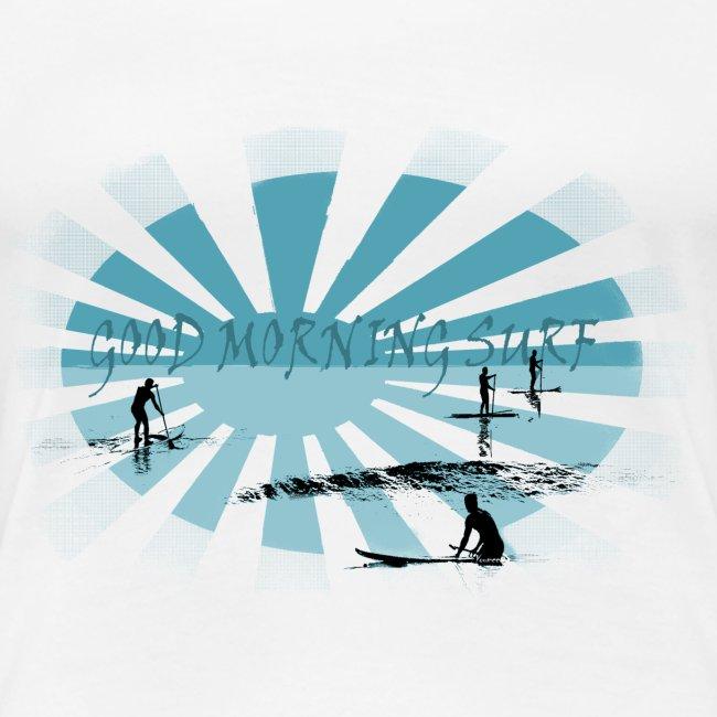 Good morning surf paddle - Bleu