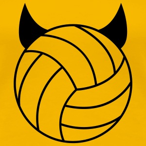 Volleyball - Devil T-shirts - Premium-T-shirt dam