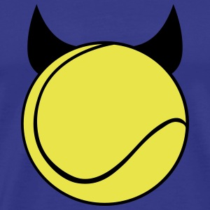 Tennis Devil T-shirts - Herre premium T-shirt