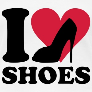 I love Shoes T-Shirts - Women's Premium T-Shirt
