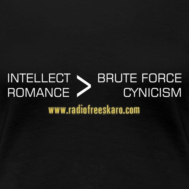 Intellect & Romance (Plus Size T-Shirt)