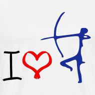 Design ~ i love archery t-shirt