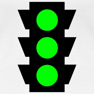 traffic light 2c T-Shirts - Women's Premium T-Shirt