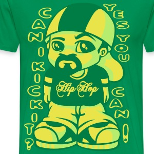 Can i kick it ? vert - T-shirt Premium Homme