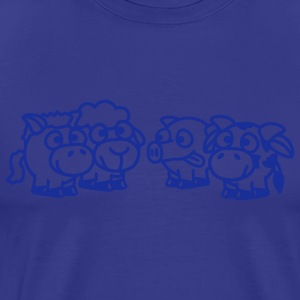 smiley_animals_1c T-Shirts - Männer Premium T-Shirt