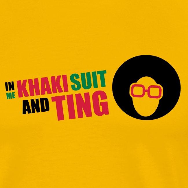 Khaki Suit & Ting