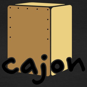 Cajon Beat Box T-Shirts - Frauen T-Shirt