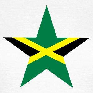 Vit Jamaica_star T-shirts - Frauen T-Shirt