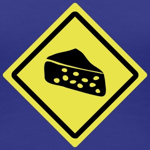 cheese roadsign T-Shirts - Frauen Premium T-Shirt
