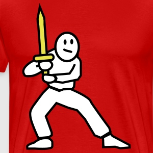 swordfighter T-Shirts - Men's Premium T-Shirt