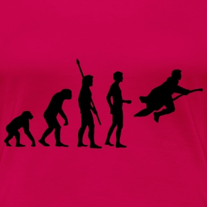 evolution_potter_1c_a T-Shirts - Women's Premium T-Shirt