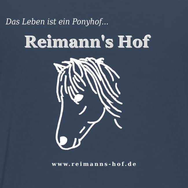 Herren T-Shirt gross -Ponykopf-