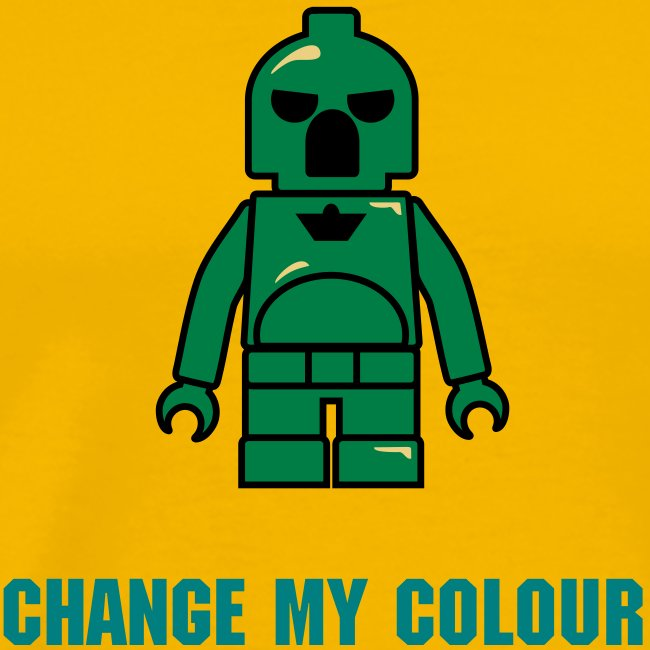 Green Plastic Toy Space Soldier