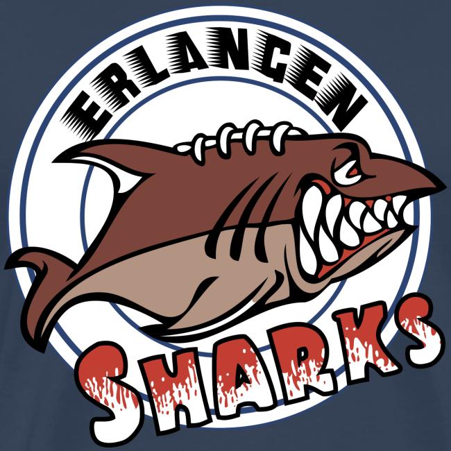 Erlangen Sharks Color Premium T-Shirt (m, navy)