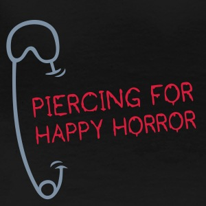 HORROR PIERCING | Girlieshirt - Frauen Premium T-Shirt