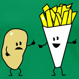 potato french fries T-Shirts - Women's Premium T-Shirt