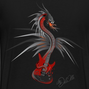 Guitardragon 4  T-Shirts - Men's Premium T-Shirt
