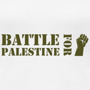 Battle for Palestine T-Shirts - Women's Premium T-Shirt