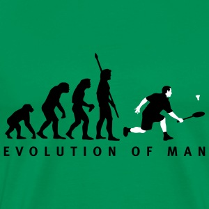 evolution_badminton_022011_d_2c T-shirts - Mannen Premium T-shirt