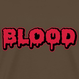 Blood | Blut | Slime T-Shirts - Men's Premium T-Shirt