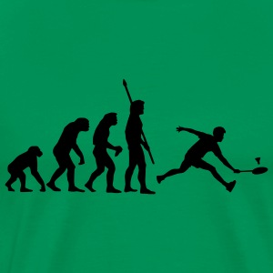 evolution_badminton_022011_a_1c T-shirts - Mannen Premium T-shirt