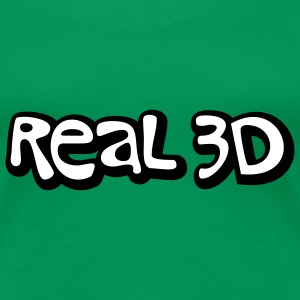 Real 3D | 3D Reality T-Shirts - Women's Premium T-Shirt