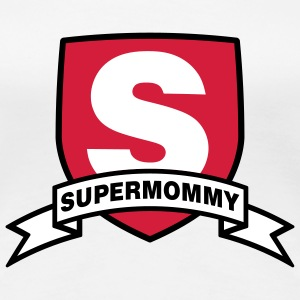 Supermommy | Super | Mom T-Shirts - Maglietta Premium da donna