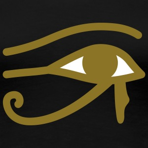 Ägyptisches Auge | Eye of Egypt T-Shirts - Premium T-skjorte for kvinner