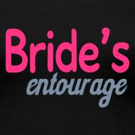 Design ~ Hen Party / Bridal Shower Tshirts - Brides Entourage Tshirt