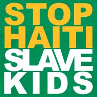 Motiv ~ Mann T-Shirt Stop haiti slave kids 02© by kally ART®