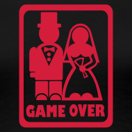 Design ~ Funny Hen Party Tshirt - Game Over