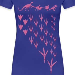 from dinosaurs to birds evolution T-Shirts - Women's Premium T-Shirt
