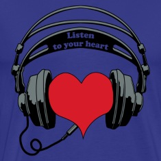 listen to your heart T-Shirts
